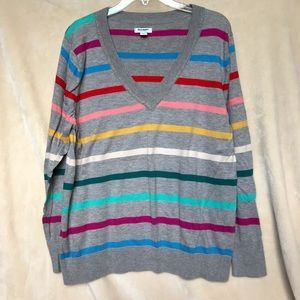 Old Navy sweater stripped
